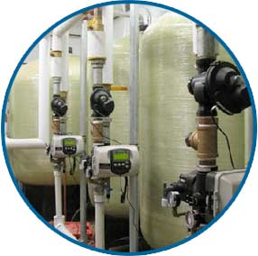 Commerical water treatment systems