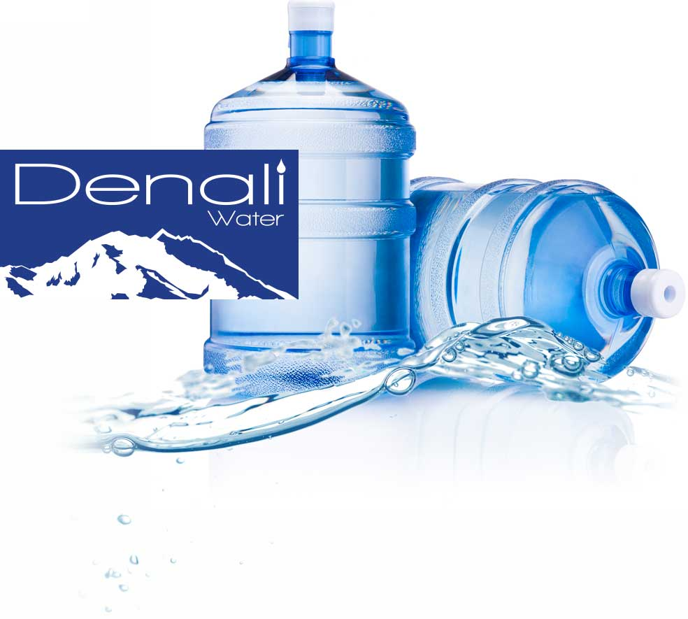 Denali 5 gallon bottled water